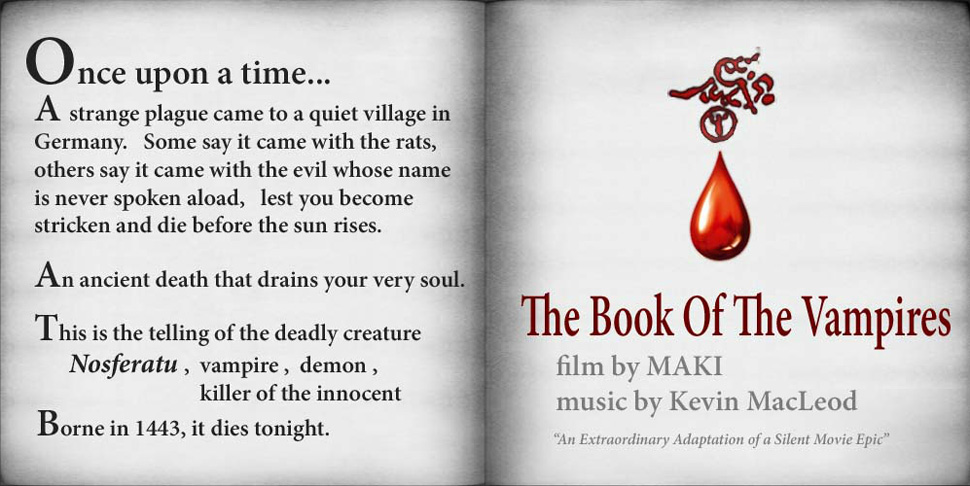 THE BOOK OF THE VAMPIRES